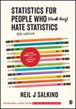 Statistics for People Who (Think They) Hate Statistics (ISE) 6ed