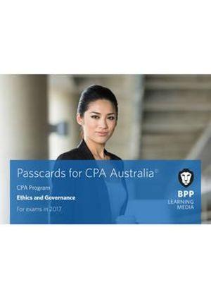 CPA Australia A1 - Ethics and Governance Passcards