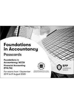 ACCA - F3C Foundations of Financial Accounting FFA (ACCA F3) Passcards