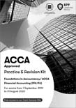 ACCA - FA Foundations of Financial Accounting (International) Practice and Revision Kit