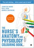 Nurse's Anatomy and Physiology Colouring Book