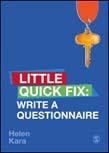 Write a Questionnaire: Little Quick Fix