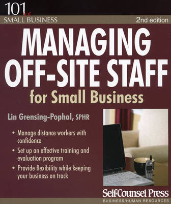 Managing Off-Site Staff for Small Business 2ed