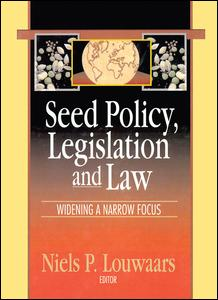 Seed Policy, Legislation and Law