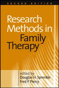 Research Methods in Family Therapy 2ed