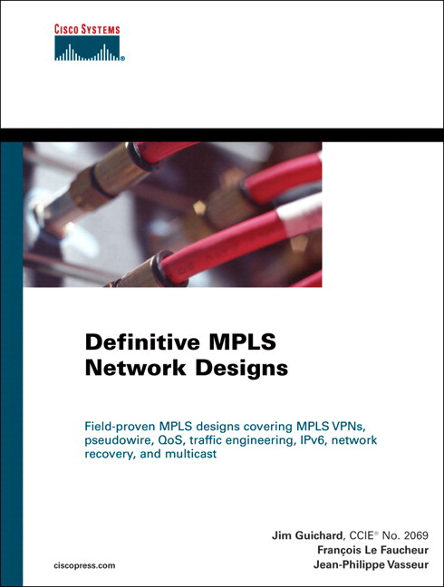 Definitive MPLS Network Designs (paperback)