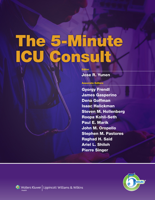 The 5 Minute ICU Consult