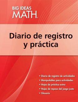 Big Ideas Math Red, Record and Practice Journal Spanish Edition (1 year)