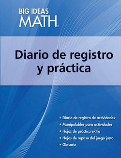 Big Ideas Math Blue, Record and Practice Journal Spanish Edition (1 year)