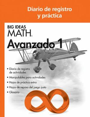 Big Ideas Math Advanced 1, Record and Practice Journal Spanish Edition (1 year)