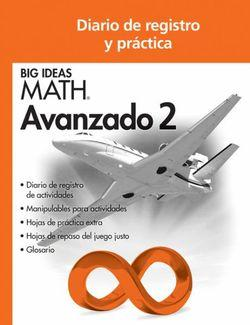 Big Ideas Math Advanced 2, Record and Practice Journal Spanish Edition (1 year)