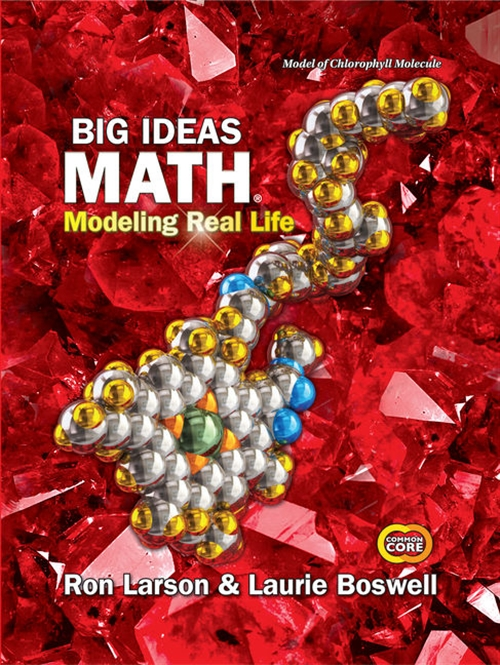 Big Ideas Math: Modeling Real Life Common Core - Grade 7 Student Edition