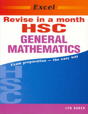 Excel Revise Hsc General Mathematics in a Month