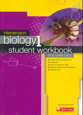 Heinemann Biology 1: Student Workbook : VCE Units 1 & 2