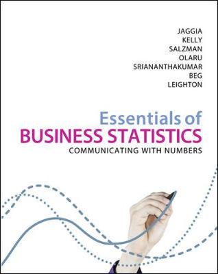 Essentials of Business Statistics 1st Edition + Connect Value Pack