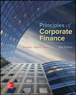 Pack Principles of Corporate Finance (includes Connect)