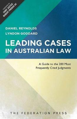Leading Cases in Australian Law