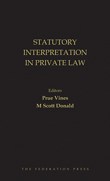 Statutory Interpretation in Private Law
