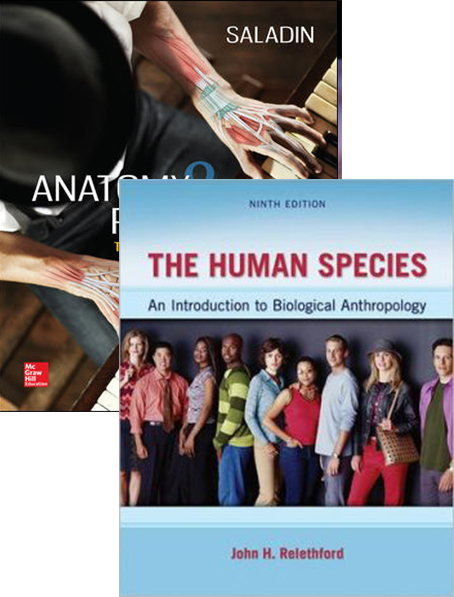 Anatomy & Physiology + Human Species + Connect (Value Pack)