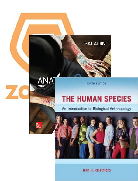 Anatomy & Physiology + Human Species + Cust Embryology + Connect (Value Pack)