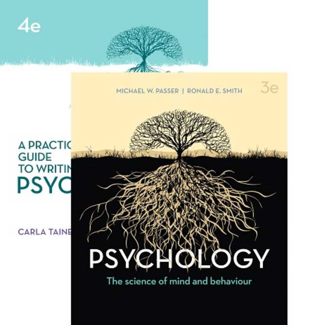 PACK Psychology: The Science of Mind and Behaviour and A Practical Guide to Writing Psychology + Connect Online Access
