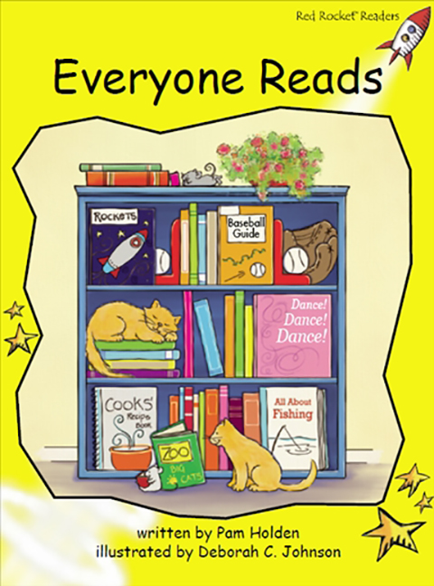Red Rocket Readers: Early Level 2 Fiction Set C: Everyone Reads (Reading Level 7/F&P Level D)