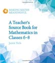 Teacher's Source Book for Mathematics in Classes 6 to 8