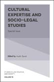 Cultural Expertise and Socio-Legal Studies: Special Issue