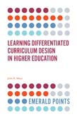 Learning Differentiated Curriculum Design in Higher Education