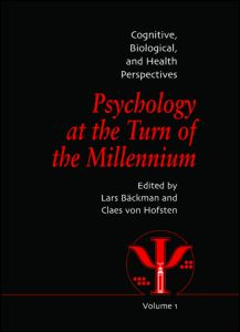 Psychology at the Turn of the Millennium, Volume 1