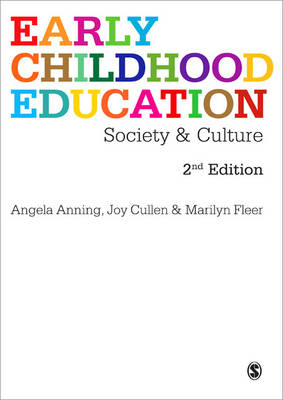 Early Childhood Education: Society and Culture 2ed