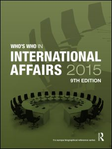 Who's Who in International Affairs 2015