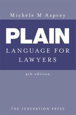 Plain Language for Lawyers 4E