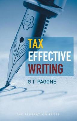 Tax Effective Writing