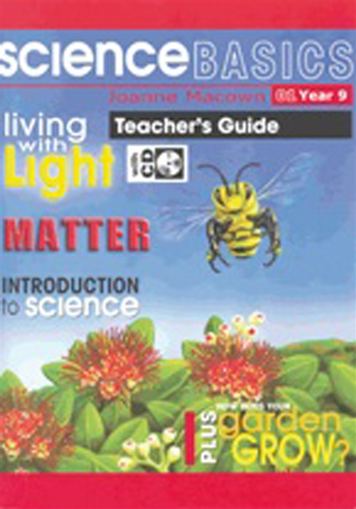 Science Basics Book 1: Teacher Book and CD : Year 9