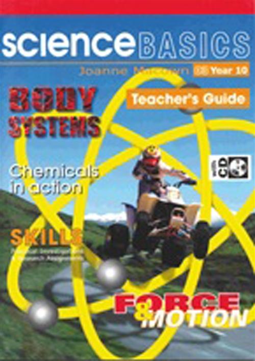 Science Basics Book 3: Teacher Book and CD : Year 10