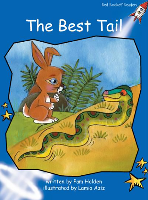 Red Rocket Readers: Early Level 3 Fiction Set A: The Best Tail (Reading Level 11/F&P Level F)