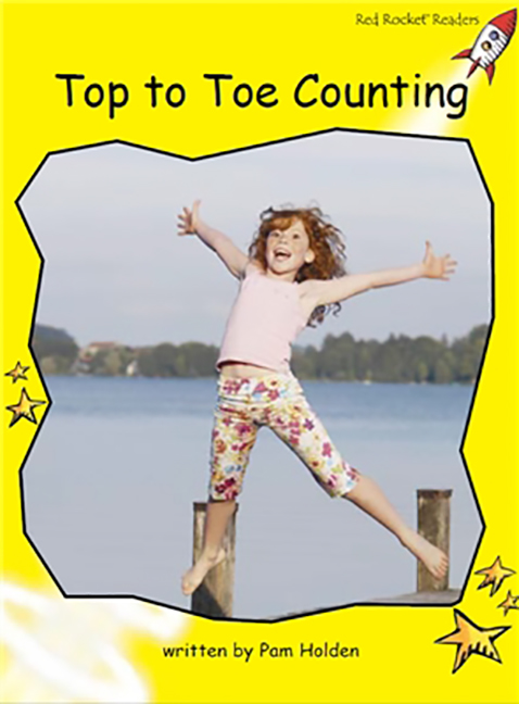 Red Rocket Readers: Early Level 2 Non-Fiction Set B: Top to Toe Counting (Reading Level 7/F&P Level F)