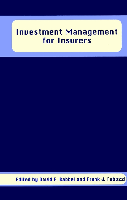 Investment Management for Insurers