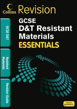 Essentials GCSE Resistant Materials Revision Guide
