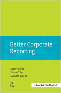 Better Corporate Reporting