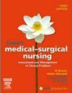 Textbook of Medical-Surgical Nursing and Nursing and Midwifery Druy Handbook Australia and New Zealand Edition Package
