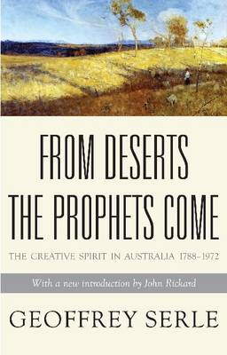 From Deserts the Prophets Come