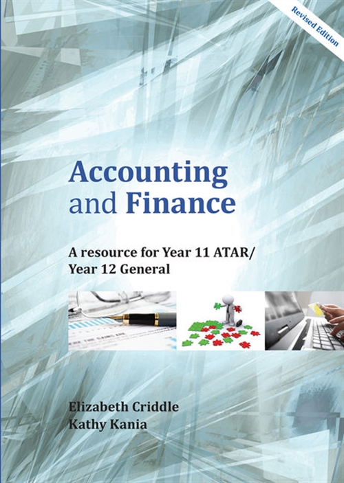 Accounting and Finances Year 11 ATAR/Year 12 General