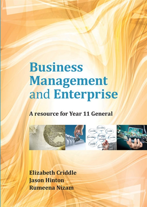 Business Management and Enterprise: Year 11 General
