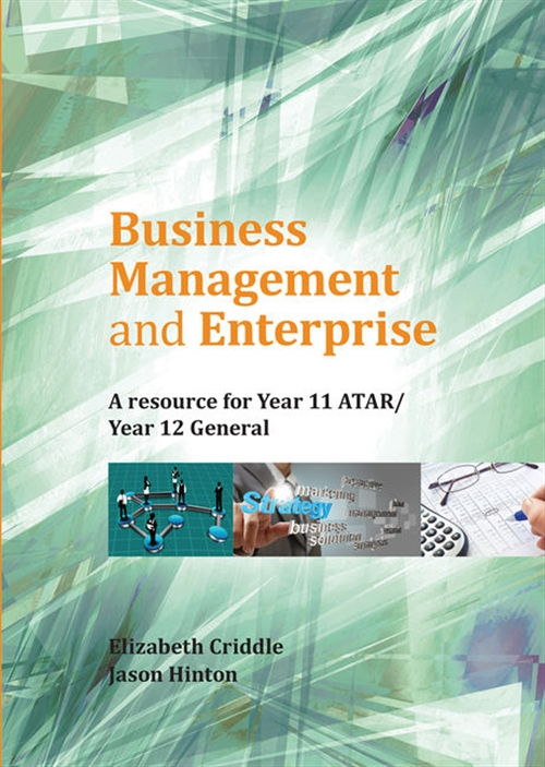 Business Management and Enterprise: Year 11 ATAR/Year 12 General