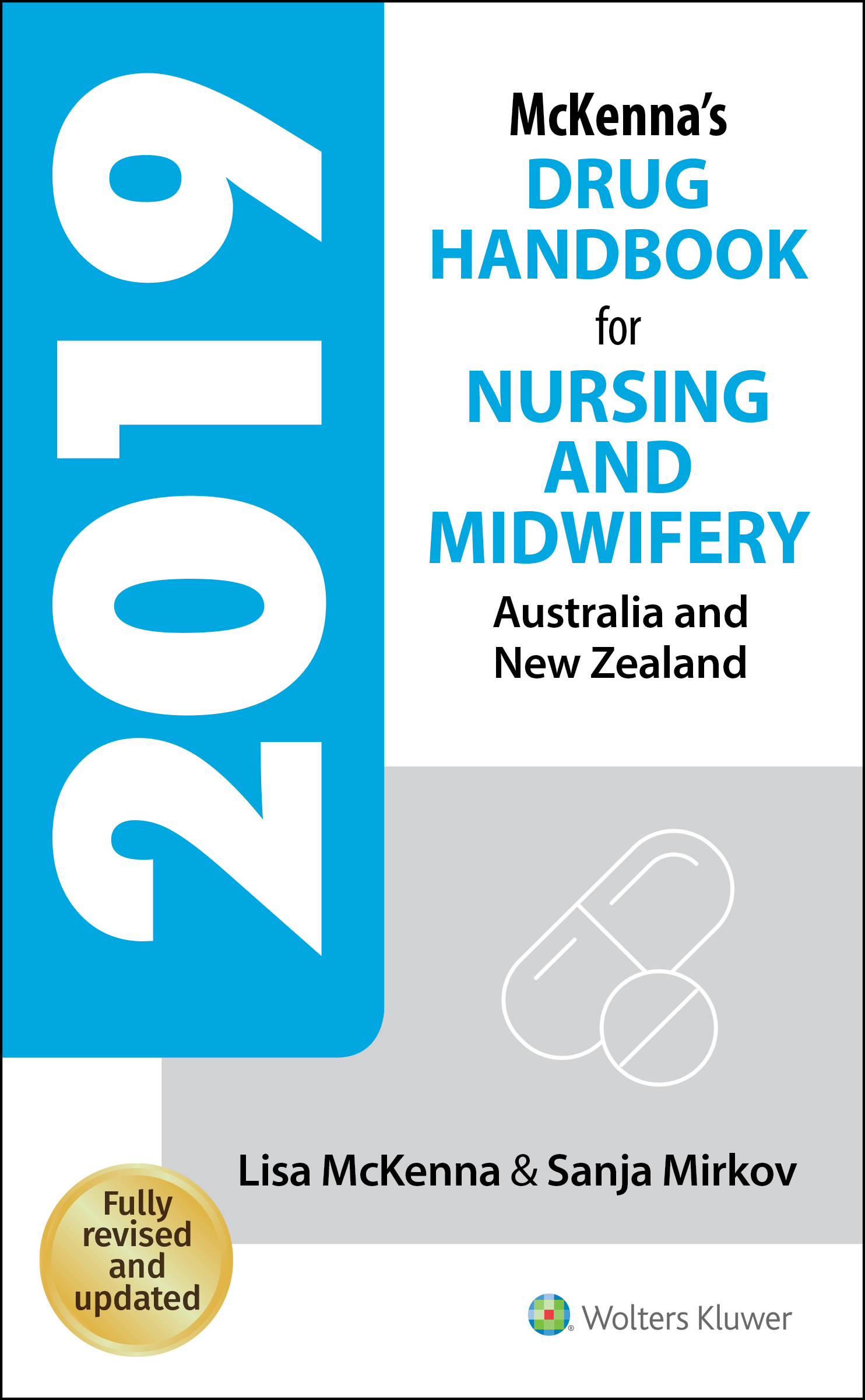 Australia and New Zealand McKenna's Drug Handbook for Nursing and Midwifery 2019