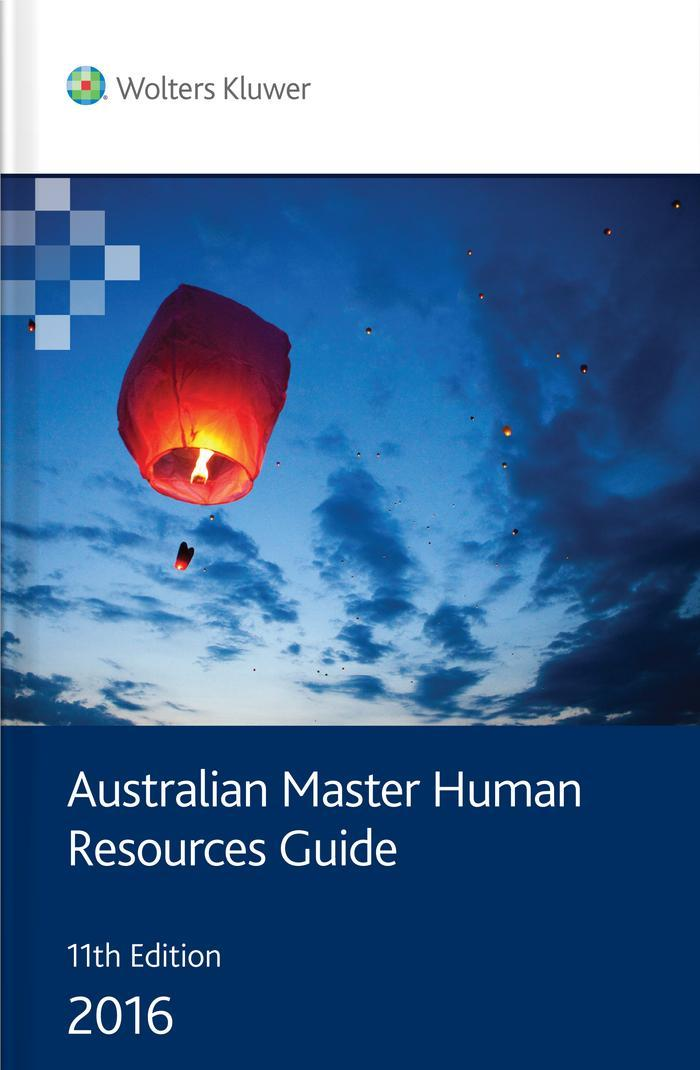 Australian Master Human Resources Guide