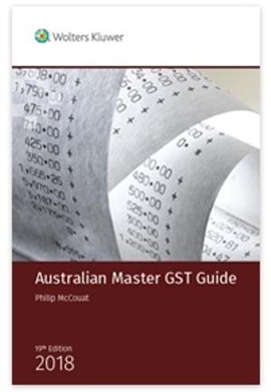 Australian Master GST Guide 2018
