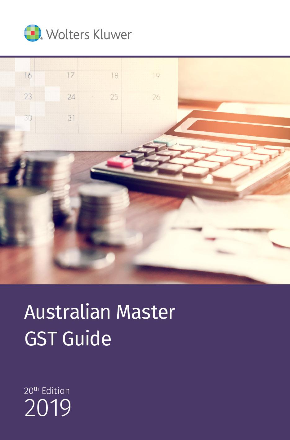 Australian Master GST Guide 2019